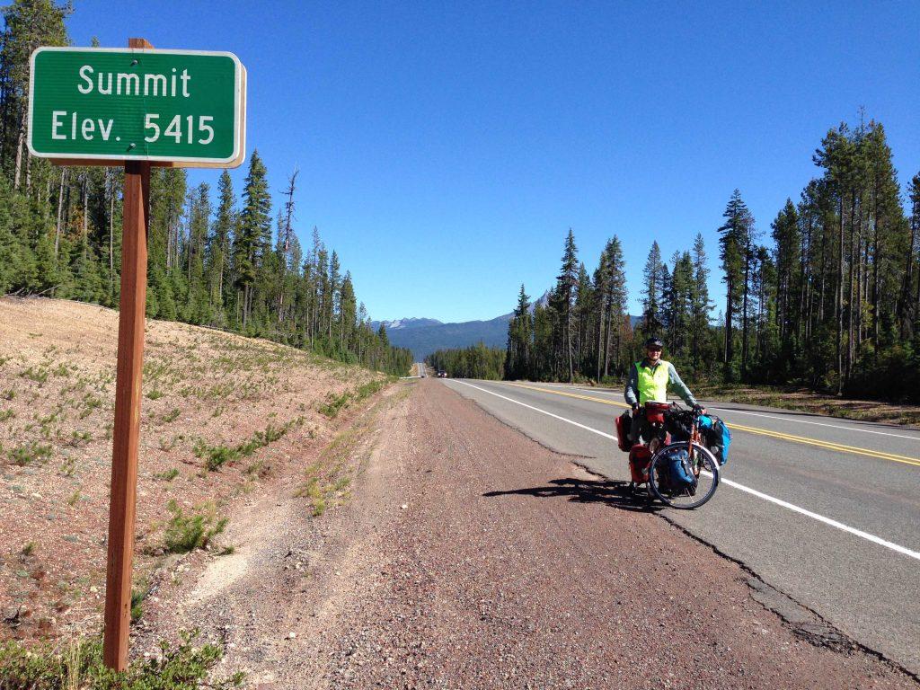 Hwy 230, our last big climb, 5415 feet